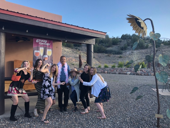 How to do a Sedona Wine Tasting Bachelorette Party